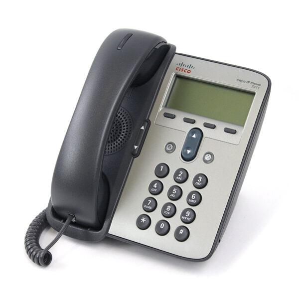 گوشی تلفن تحت شبکه سیسکو مدل IP PHONE CISCO CP-7911G