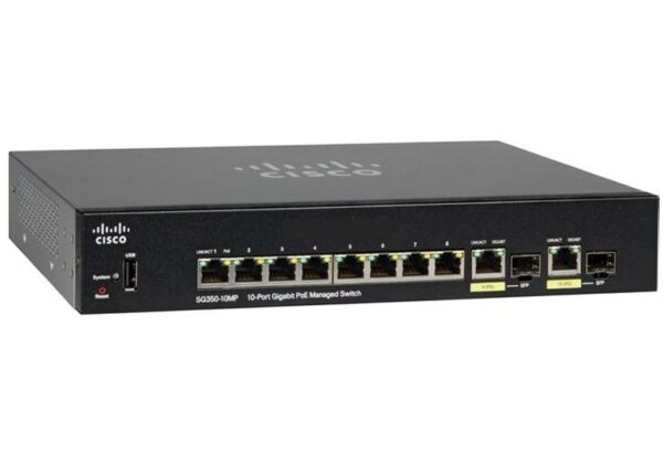 CISCO SWITCH SMALL BUSSINES SG350-10MP