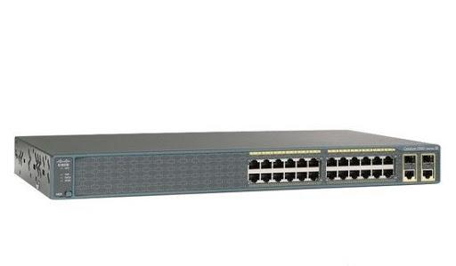 Cisco Switch Catalyst 2960Series WS-C2960-24TC-L