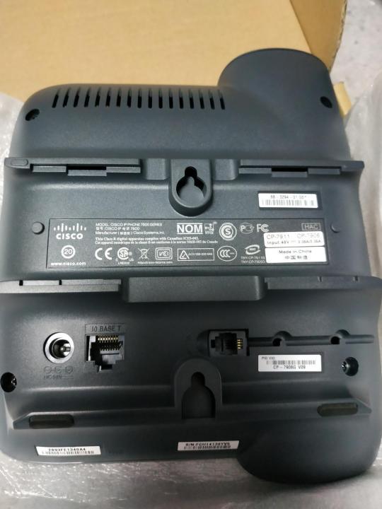 گوشی تلفن تحت شبکه سیسکو مدل CP-7906G