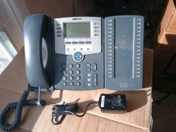 گوشی تلفن تحت شبکه سیسکو مدل SPA509G